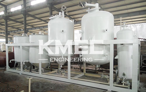 sunflowe oil refinery equipment