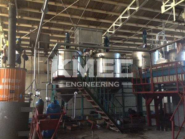 5TPD fish oil refinery production line