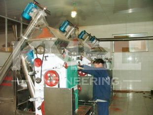 chili processing machine