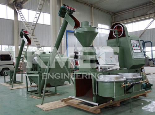 rice bran oil pressing line