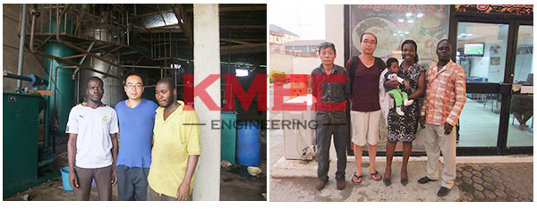 soybean oil mill plant clents in Ghana